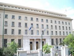 Gebäude der Bank von Griechenland