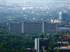Blick auf das Gebäude der Deutschen Bundesbank in Frankfurt/ Main