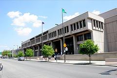 Vorderfront, US-Prägeanstalt in Philadelphia