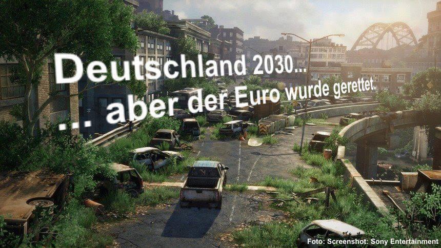 aber der Euro wurde gerettet