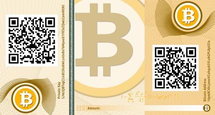Bitcoin-Banknote
