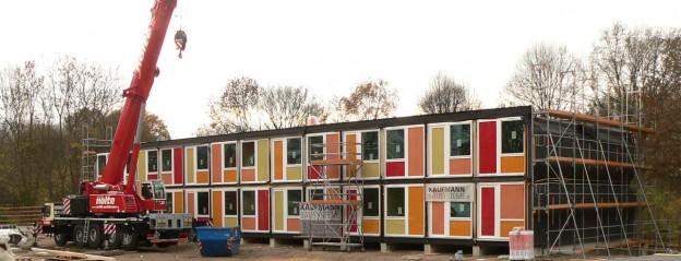 Containerbau_für_Flüchtlinge_in_Hannover_Linden